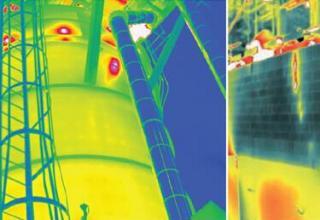 热像仪广泛用于检测设备腐蚀和完整性